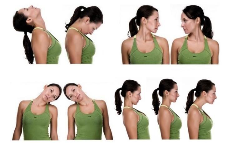 Зарядка при остеохондрозе шейного отдела позвоночника: базовые упражнения