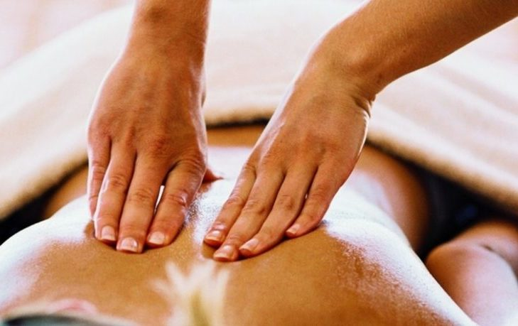 Делаем массаж при остеохондрозе грудного отдела позвоночника