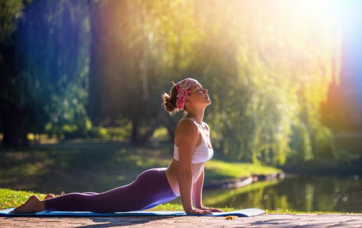 Фитнес, ходьба, пилатес, йога при остеохондрозе