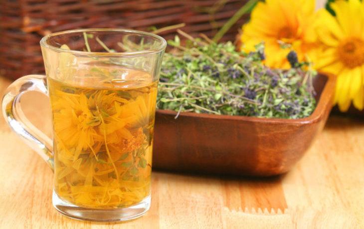 Лечение остеохондроза: травы, монастырский чай, витамины, масло с солью