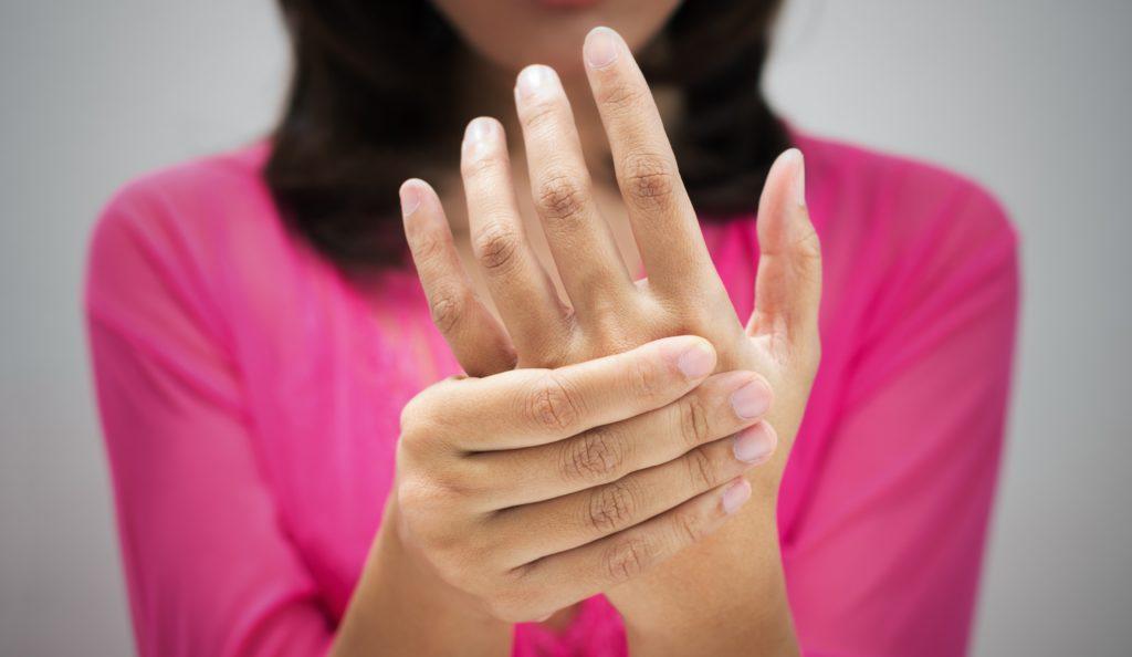 Остеохондроз пальцев и кистей рук