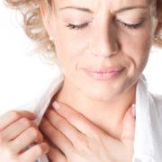 шейный остеохондроз ком в горле